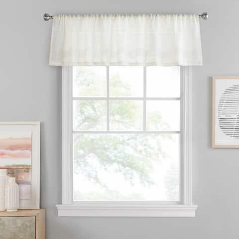 Porch & Den Templar Solid Color Window Valance