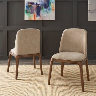Link to Carson Carrington Tiby Upholstered Side Chairs (Set of 2) Similar Items in Kitchen & Dining Room Chairs