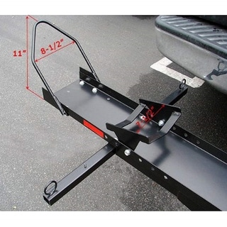 ALEKO Hitch Mounted Scooter Motorcycle Mobility Carrier 600 Lb Black