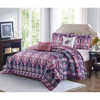 Harper Lane Victoria 5-piece Quilt Set