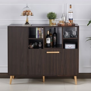 Link to Carson Carrington Vinnsater Contemporary Wenge Buffet Server Similar Items in Dining Room & Bar Furniture