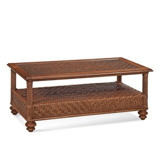 Braxton Culler Topsail Indoor Wicker Coffee Table