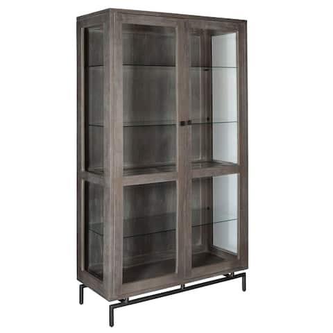 Solid Wood Dining Curio Cabinet - Sedona