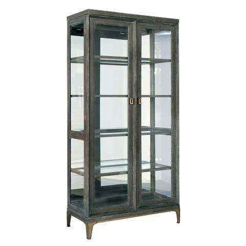 Solid Wood Display Cabinet - Edgewater