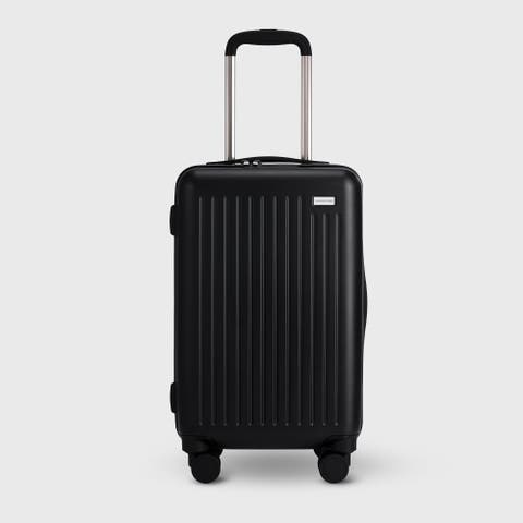"""The Flier Check In 27"""" Luggage in Black"""