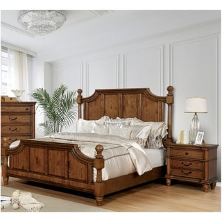 The Gray Barn Cosmic Creepers Light Oak 3-piece Bedroom Set