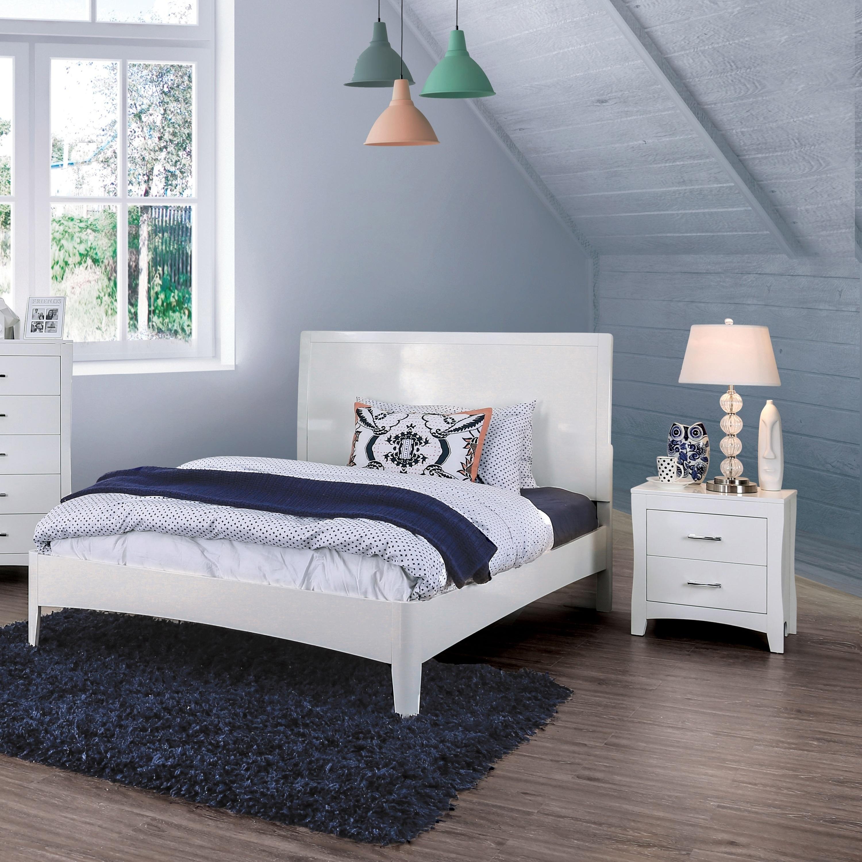 Copper Grove Khashuri Modern White 3-piece Bedroom Set