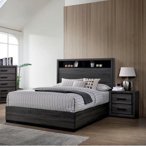 Strick & Bolton Soami Grey 2-piece Bedroom Set
