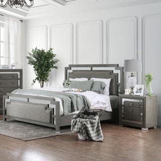Silver Orchid Bara Grey 3-piece Bedroom Set