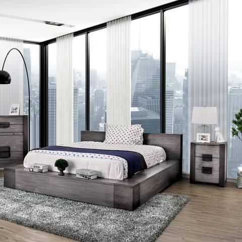 Strick & Bolton Burton Grey 2-piece Bedroom Set