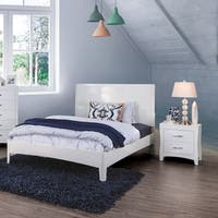 Copper Grove Khashuri Modern White 2-piece Bedroom Set