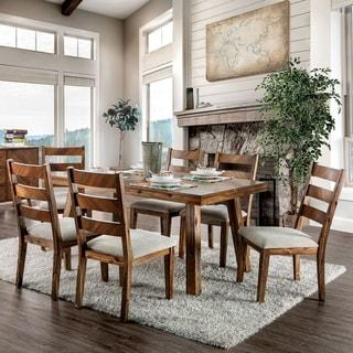 Carbon Loft Dorminey Rustic Light Oak 7-piece Dining Set