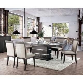 Link to Strick & Bolton Edmonia Espresso 7-piece Dining Set Similar Items in Dining Room & Bar Furniture