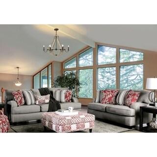 Gracewood Hollow Dzumhur Contemporary Grey 2-piece Living Room Set
