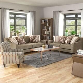 Copper Grove Chervono Rustic 3-piece Living Room Set
