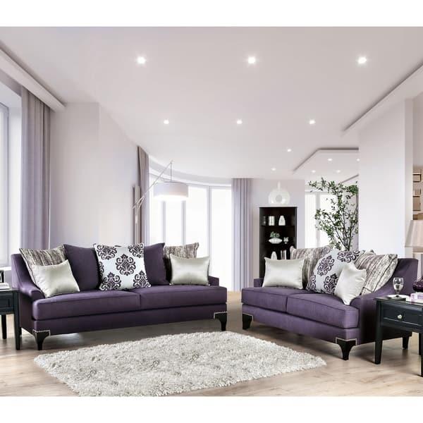 Shop Gracewood Hollow Surti Contemporary 2 Piece Living Room Set Overstock 28406353