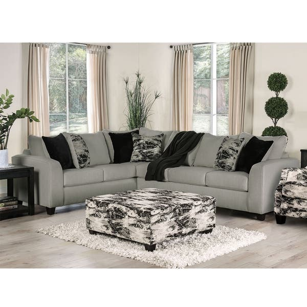 Enjoyable Shop Strick Bolton Hilma Contemporary Sectional And Gmtry Best Dining Table And Chair Ideas Images Gmtryco
