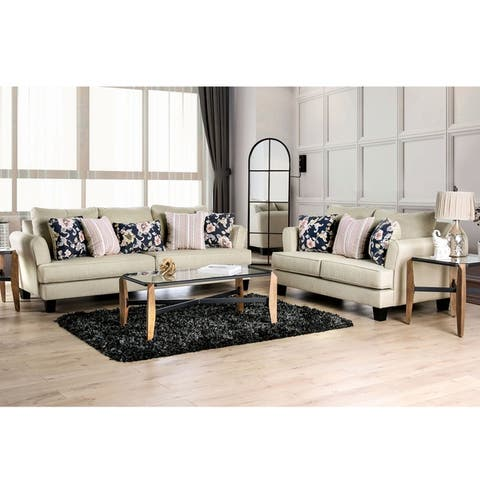 The Gray Barn Bangle Bend Modern 2-piece Living Room Set