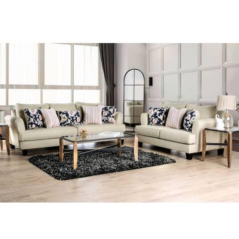 The Gray Barn Bangle Bend Modern 2-piece Living Room Set