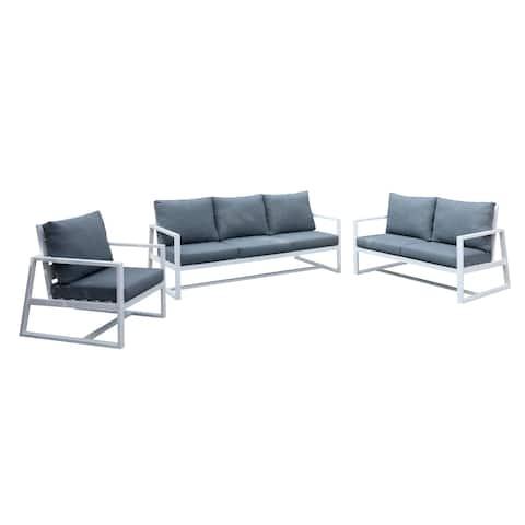 Azra Contemporary 3-piece Patio Set by FOA