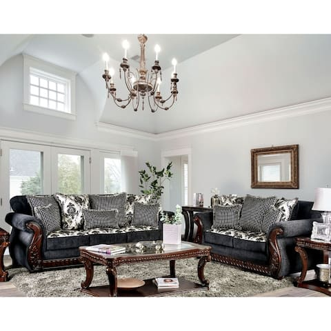 Gracewood Hollow Mansuri Traditional 2-piece Living Room Set