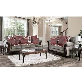 Gracewood Hollow Mansuri Traditional 2-piece Living Room Set