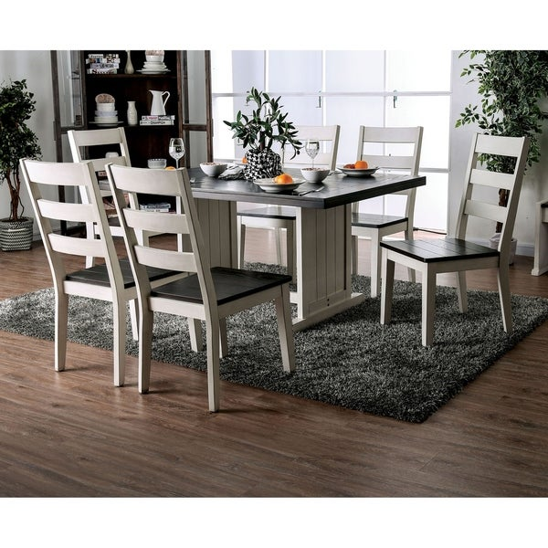 The Gray Barn Louise Park Farmhouse Espresso 7-piece Dining Set