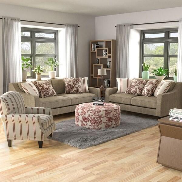 Copper Grove Chervono Rustic 4-piece Living Room Set