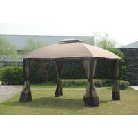 Sunjoy Replacement Canopy set for L-GZ659PST 10X13 South Hampton Gazebo (As Is Item)