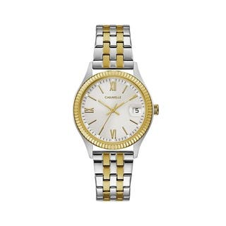 Caravelle Designed by Bulova Women's 45M112 Two-Tone Stainless Bracelet Watch