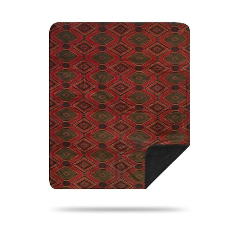 Denali Navaho Wind/Pine Microplush Blanket