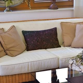Color Lines RPG Pattern Lumbar Pillow