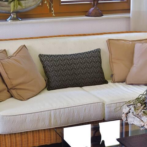 Classic Art Deco Lumbar Pillow