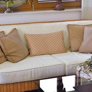 Classic Geometric Ombre Pattern Lumbar Pillow