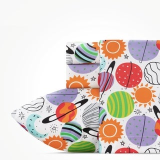Link to Highlights Plenty of Planets Twin Sheet Set Similar Items in Kids Sheets & Pillowcases