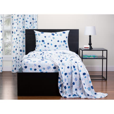 Highlights Turtle Time Twin Sheet Set
