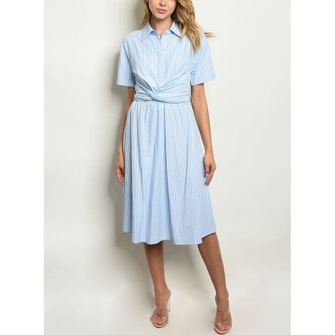 bda5fa8b120 Cotton Dresses   Find Great Women's Clothing Deals Shopping at Overstock