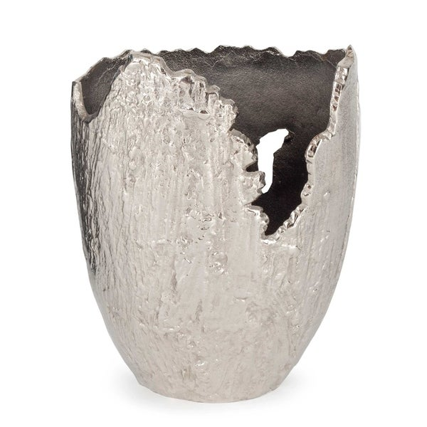 Terra Vase Small, Nickel