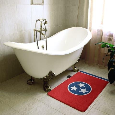 Smith Tennessee Flag Bath Mat