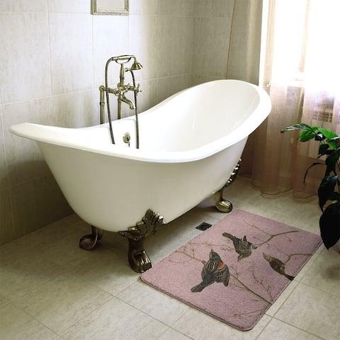 Audubon Red-Winged Starling Bath Mat