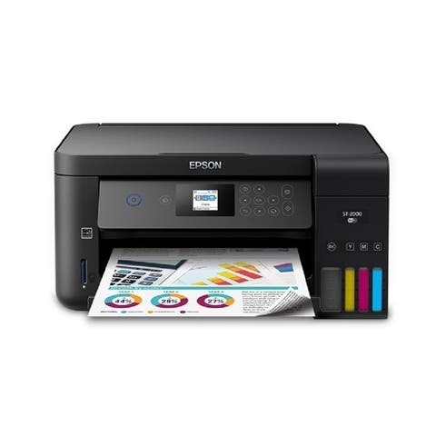 Epson WorkForce ST-2000 EcoTank Color MFP Supertank Printer  Multifunction printer  C11CG22202