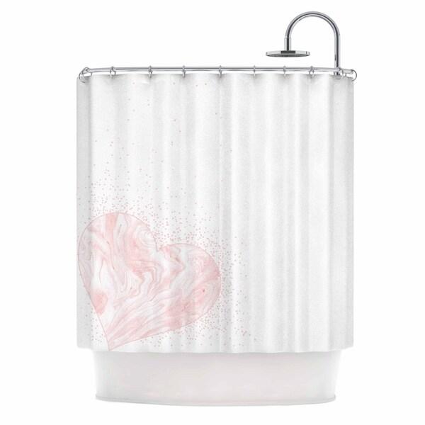 71/'/'x71/'/' Home Waterfall Ruffled Fabric Shower Bath Curtain Bathroom With Hooks
