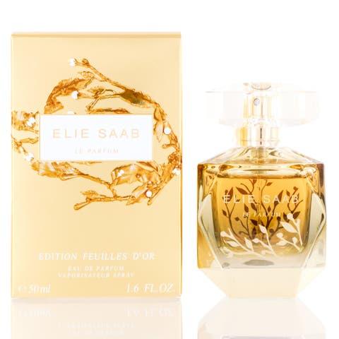 Le Parfum Edition Feuilles Dor Women's Elie Saab Eau de Parfum Spray 1.6-ounce