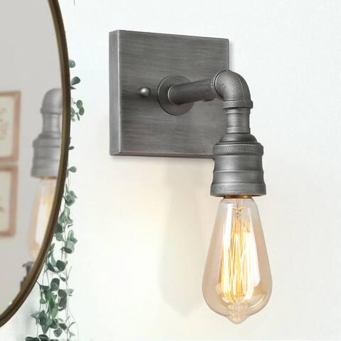 Ballon Industrial 1-Light Wall Sconces Bathroom Vanity Wall Lights