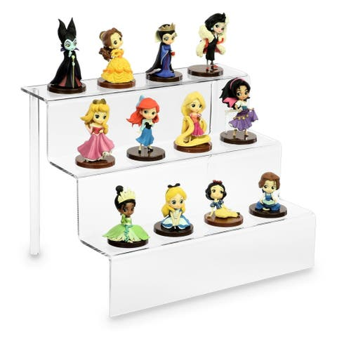 "Acrylic Riser Display Shelf for POP Figures 12""W x 9""D x 9""H"