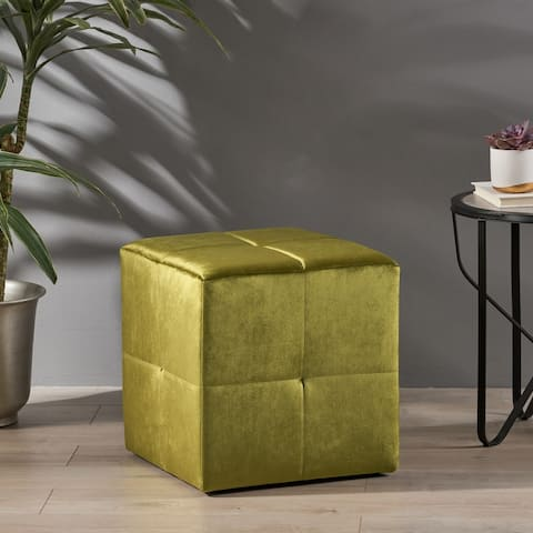 Arcon Conteporary Fabric Ottoman by Christopher Knight Home