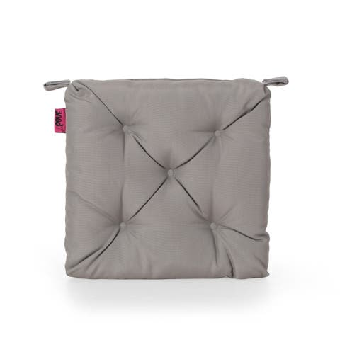Bandel Indoor Fabric Classic Tufted Chair Cushion by Christopher Knight Home