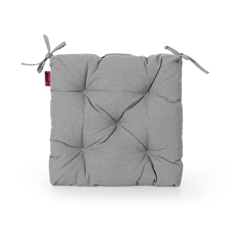 Navagio Outdoor Fabric Classic Tufted Chair Cushion by Christopher Knight Home