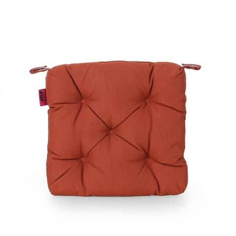 North Shore Outdoor Fabric Classic Tufted Chair Cushion by Christopher Knight Home