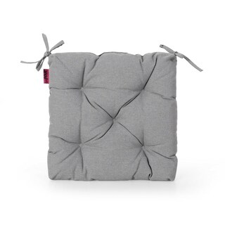 Banff Indoor Fabric Classic Tufted Chair Cushion by Christopher Knight Home